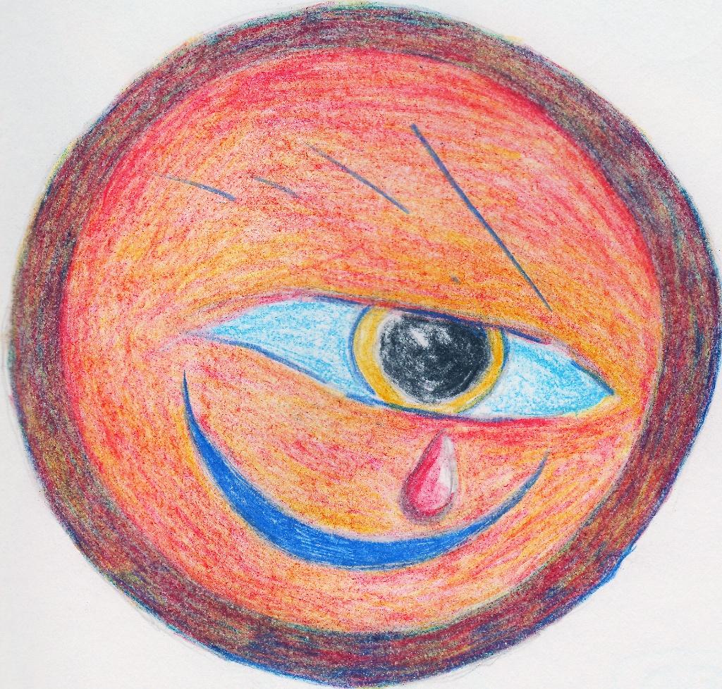 Title: The eye of Ra sheds a tear