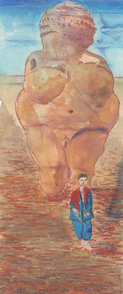 Venus and circus performer